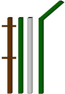 изготовление металлические столбы в Батайске