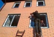 Монтаж решеток в Батайске