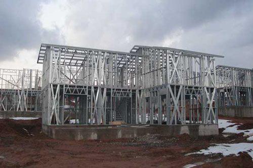 Здания на основе облегчённого металлического каркаса в Батайске